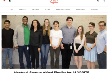 D3 startup Aifred Health MTL in tech